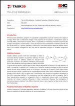 The Art of Stabilization – Analytical Evaluation of Stabilizer Systems